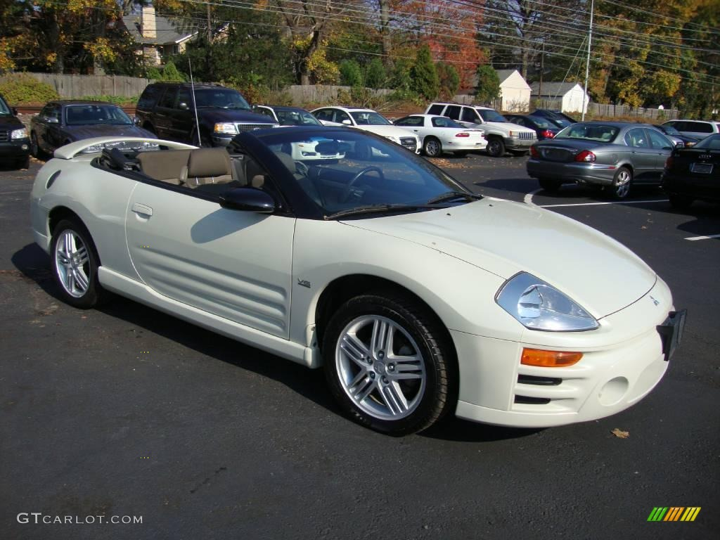 2005 dover white pearl mitsubishi eclipse spyder gt. Black Bedroom Furniture Sets. Home Design Ideas