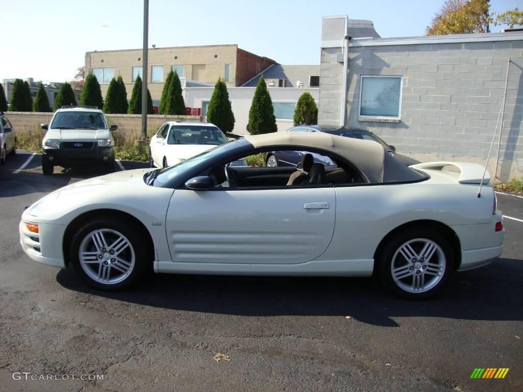 2005 dover white pearl mitsubishi eclipse spyder gt 21000023 photo 37 car. Black Bedroom Furniture Sets. Home Design Ideas