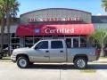 2006 Graystone Metallic Chevrolet Silverado 1500 LS Crew Cab 4x4  photo #1