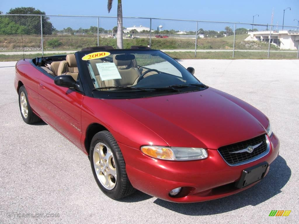 Inferno Red Pearl Chrysler Sebring Jxi Convertible