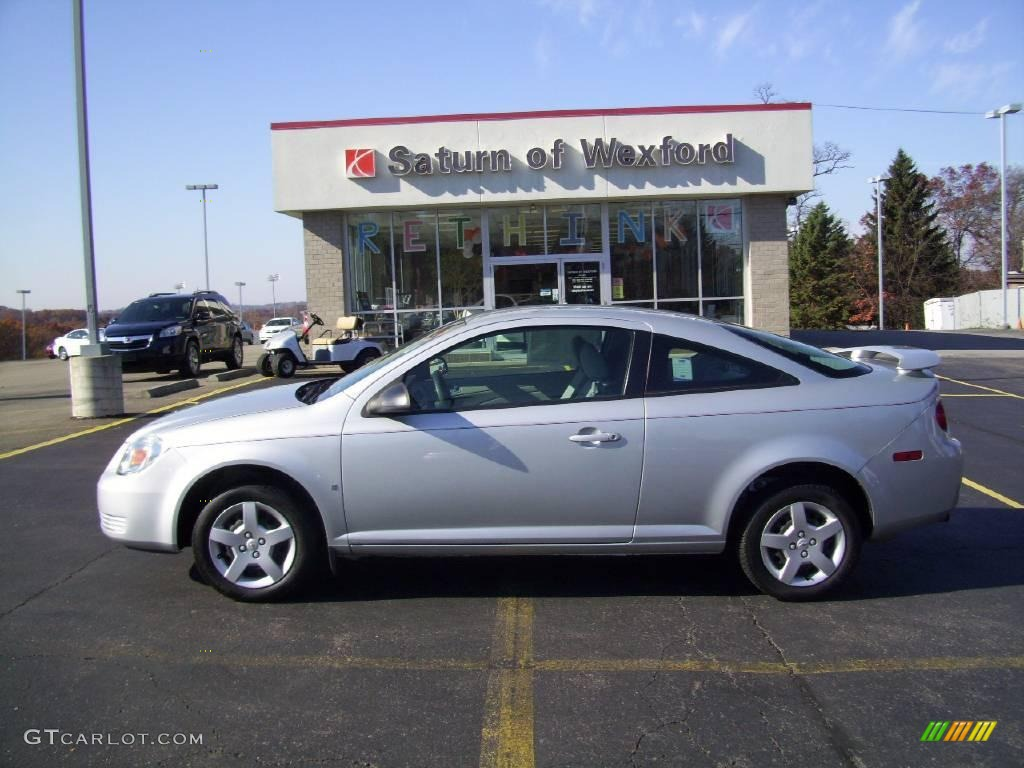 2007 Ultra Silver Metallic Chevrolet Cobalt LS Coupe ...