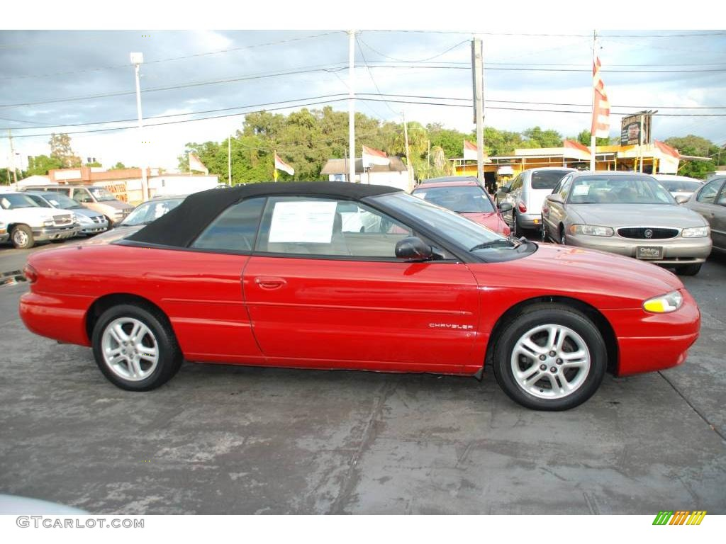 1997 indy red chrysler sebring jxi convertible 21069596. Cars Review. Best American Auto & Cars Review