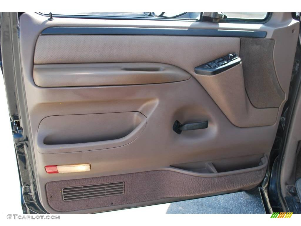 1996 Black Ford Bronco Xlt 4x4 21062588 Photo 15 Car Color Galleries