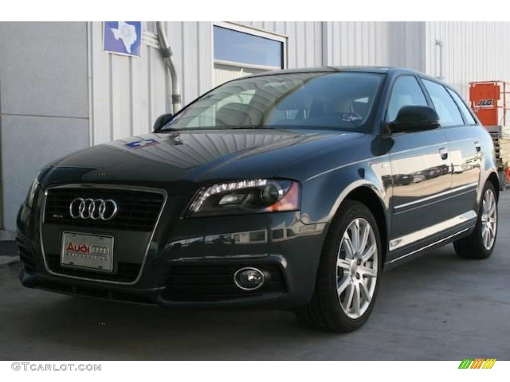 2010 meteor gray pearl effect audi a3 2 0 tfsi quattro 21067439 car color. Black Bedroom Furniture Sets. Home Design Ideas