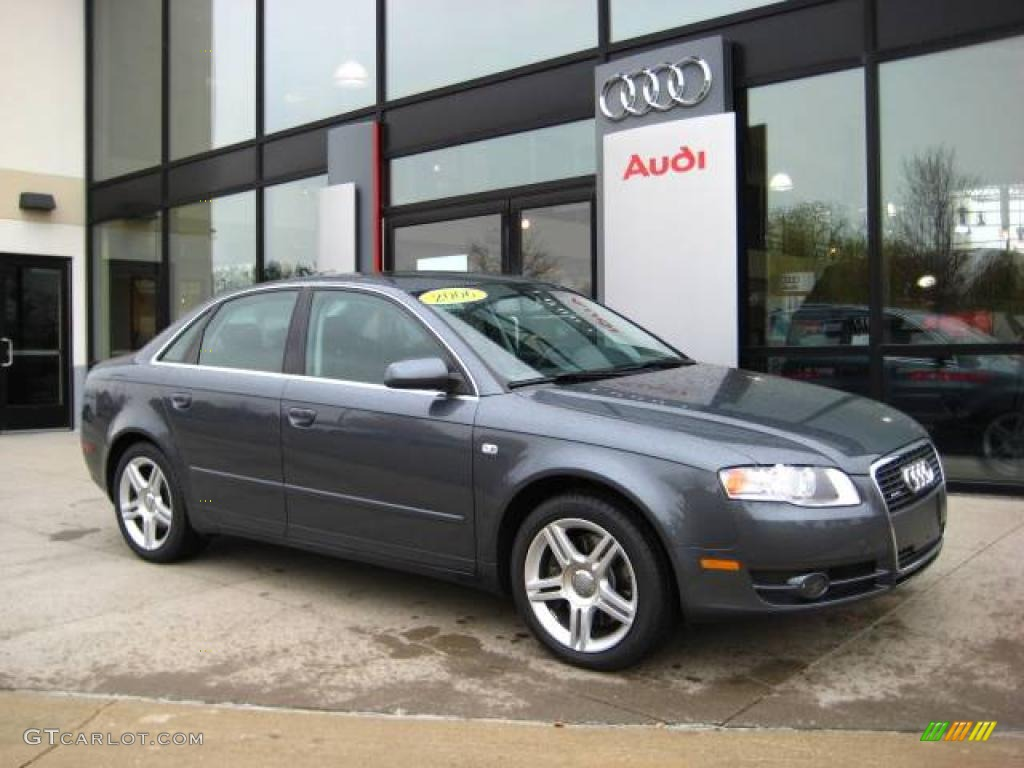 2006 dolphin gray metallic audi a4 2 0t quattro sedan 21064858 car color galleries. Black Bedroom Furniture Sets. Home Design Ideas