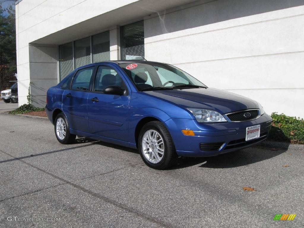 2005 french blue metallic ford focus zx4 se sedan 21068410 car color galleries. Black Bedroom Furniture Sets. Home Design Ideas