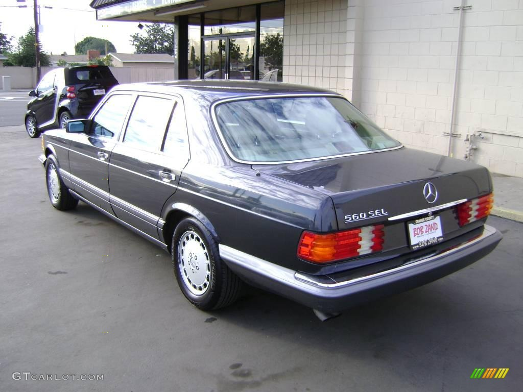 1991 anthracite gray metallic mercedes benz s class 560 for Mercedes benz s class colours