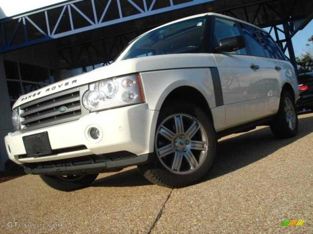 2007 Range Rover HSE - Chawton White / Parchment photo #1