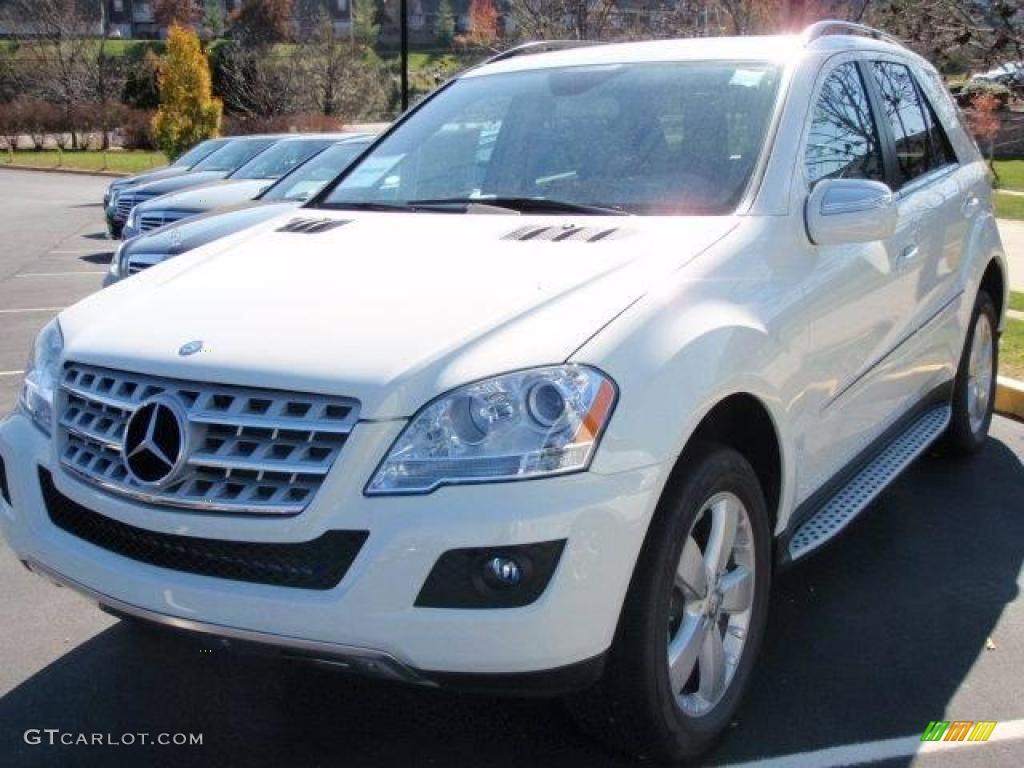 2010 Arctic White Mercedes Benz Ml 350 4matic 21132267 Gtcarlot