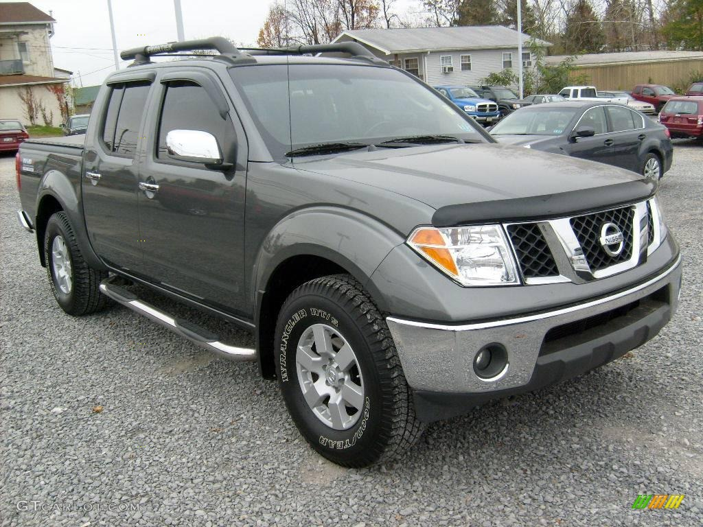 2005 storm gray metallic nissan frontier nismo crew cab 4x4 21137475 car color. Black Bedroom Furniture Sets. Home Design Ideas