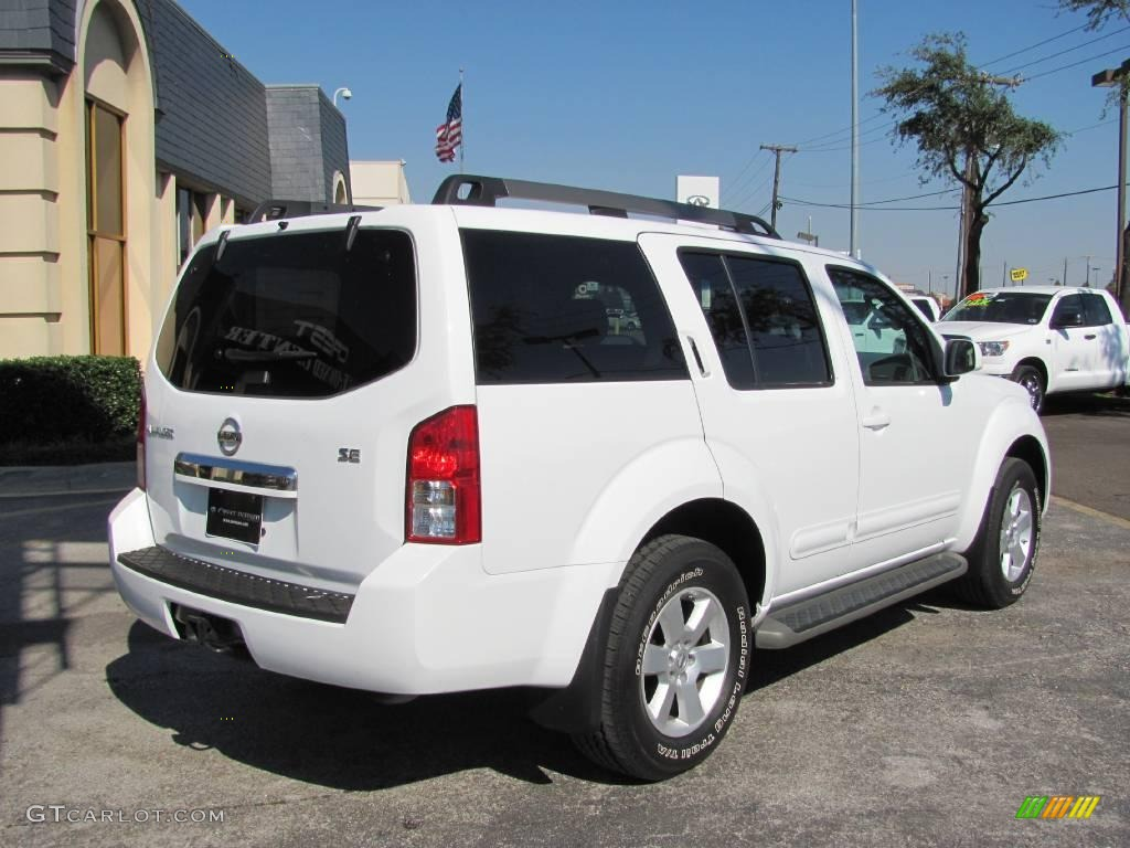 2009 white frost nissan pathfinder se 4x4 21132294 photo 6 2009 pathfinder se 4x4 white frost graphite photo 6 vanachro Image collections