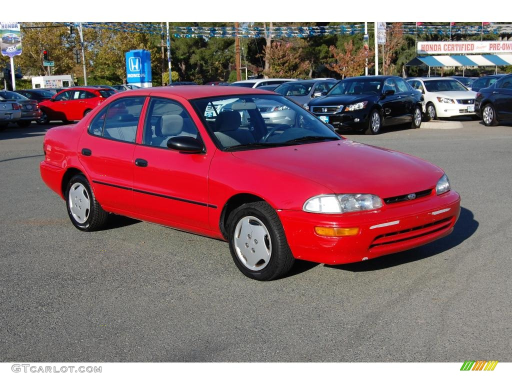 Bright Red Geo Prizm