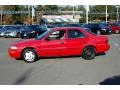 1995 Bright Red Geo Prizm   photo #6