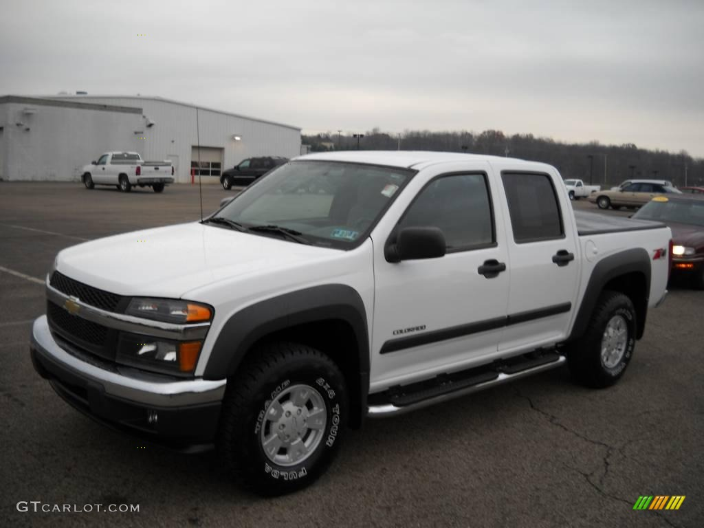 2005 summit white chevrolet colorado z71 crew cab 4x4 21133777 photo 20 gtcarlot com car