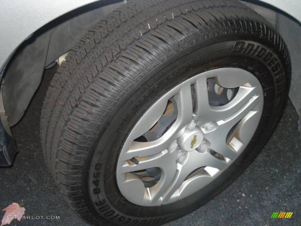 2007 Malibu LS Sedan - Silverstone Metallic / Titanium Gray photo #25