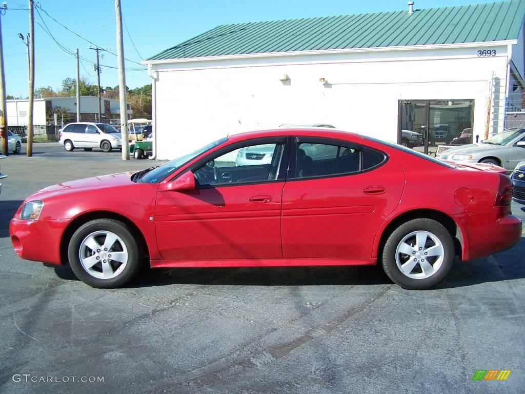 2007 Crimson Red Pontiac Grand Prix Sedan 21131377