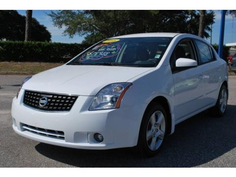 Nissan Sentra 2008 White. Fresh Powder White middot; 2008