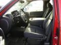 2009 Victory Red Chevrolet Silverado 1500 LT Extended Cab  photo #4