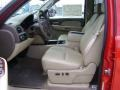2009 Victory Red Chevrolet Silverado 1500 LTZ Crew Cab 4x4  photo #4
