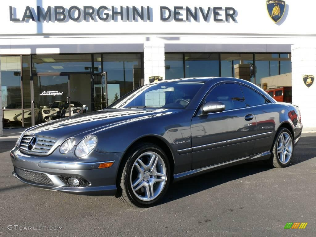 2005 Flint Grey Metallic Mercedes Benz Cl 55 Amg 2105711