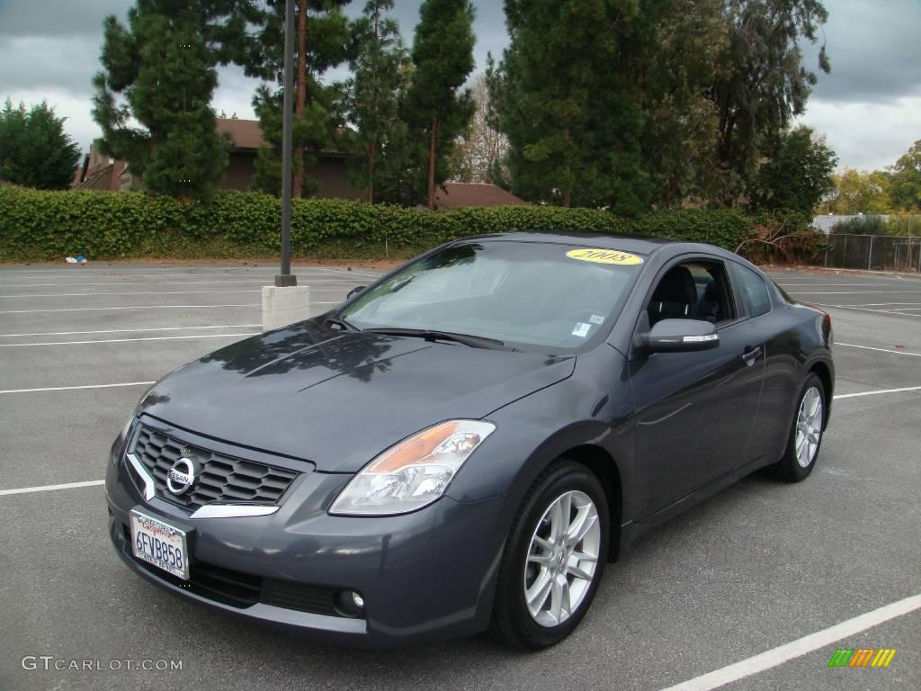 2008 Dark Slate Metallic Nissan Altima 3 5 Se Coupe