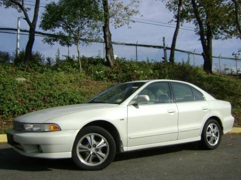 2000 Northstar White Mitsubishi Galant ES V6