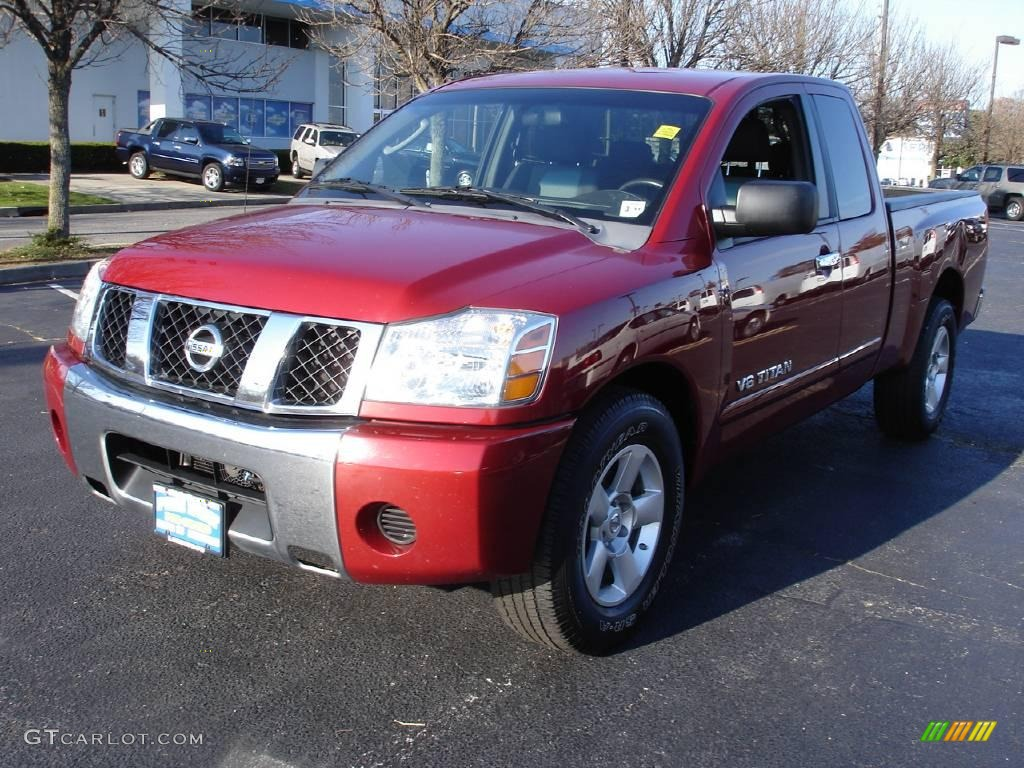 2007 red brawn nissan titan se king cab 21287004 car color galleries. Black Bedroom Furniture Sets. Home Design Ideas