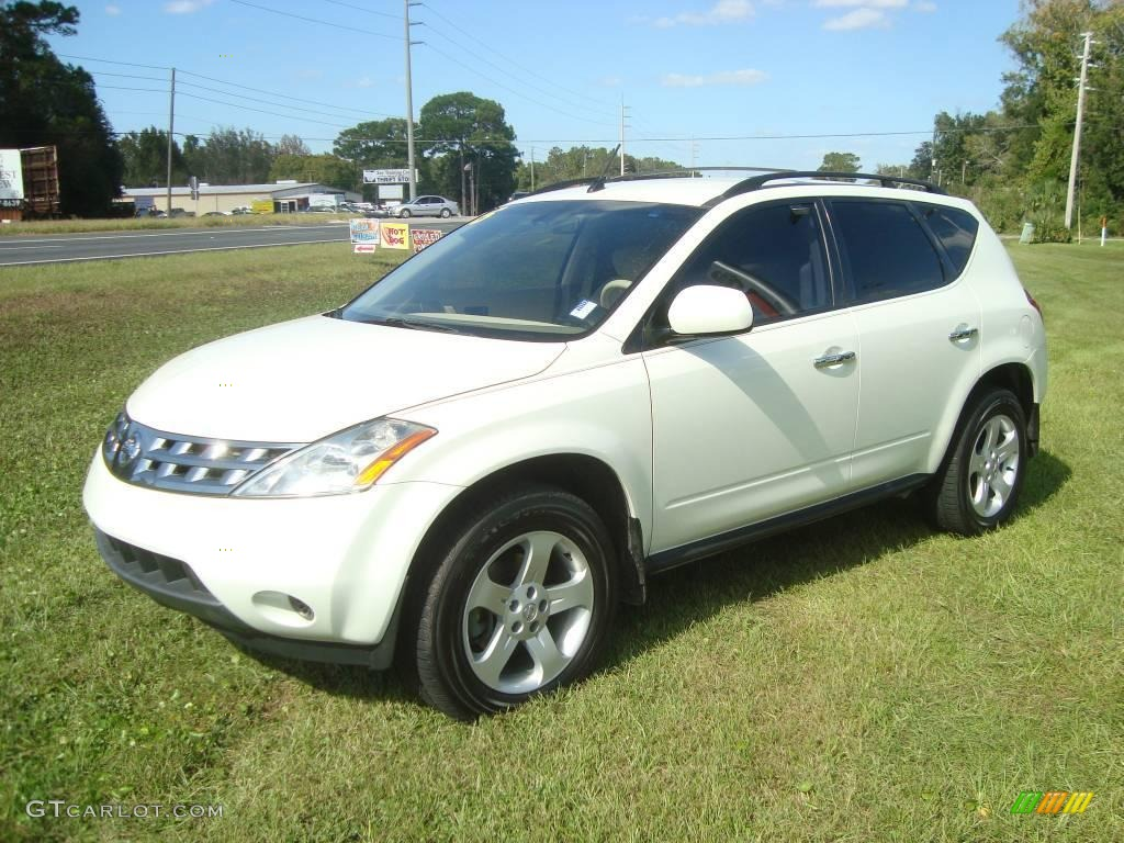 2005 glacier pearl white nissan murano sl 21309691 car color galleries. Black Bedroom Furniture Sets. Home Design Ideas