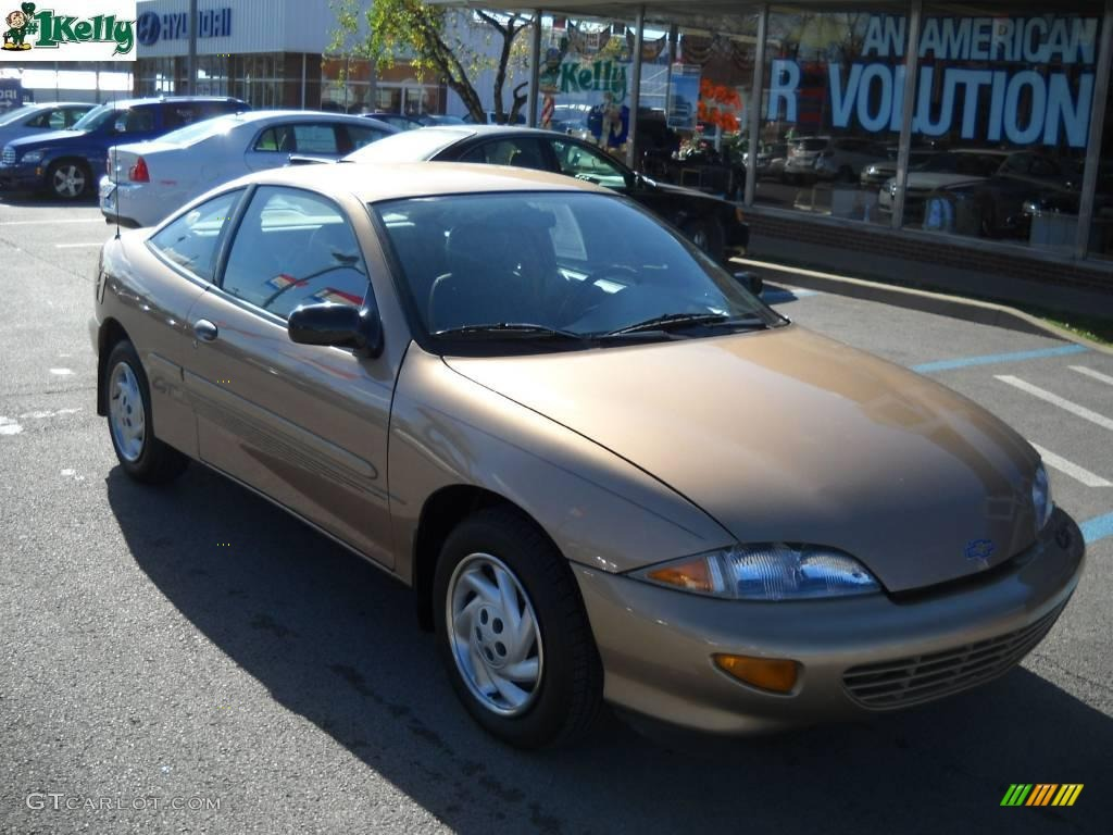 1998 Chevrolet Cavalier 1 - Cavalier Coupe Gold Metallic Neutral Photo - 1998 Chevrolet Cavalier 1