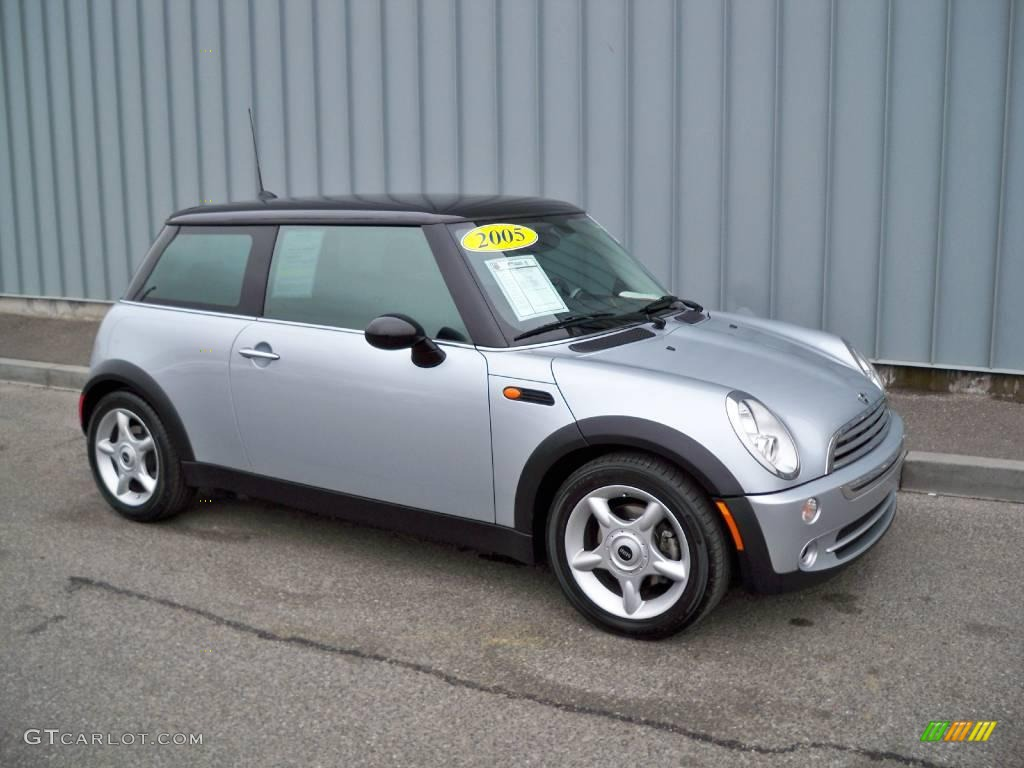 2005 pure silver metallic mini cooper hardtop 2129058 car color galleries. Black Bedroom Furniture Sets. Home Design Ideas
