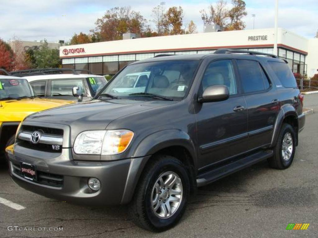 2006 phantom gray pearl toyota sequoia limited 4wd 21381391 car color galleries. Black Bedroom Furniture Sets. Home Design Ideas