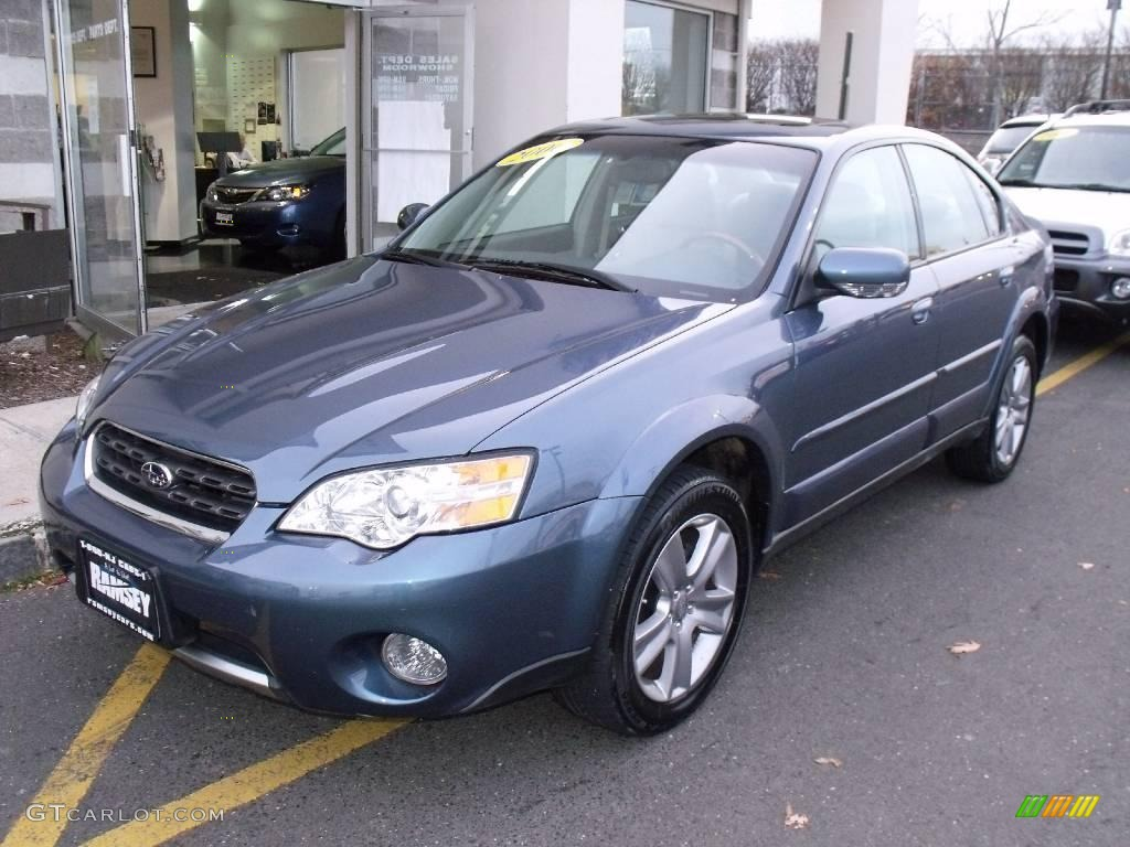 2006 atlantic blue pearl subaru outback 3 0 r l l bean. Black Bedroom Furniture Sets. Home Design Ideas