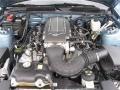 2007 Windveil Blue Metallic Ford Mustang GT Premium Convertible  photo #27