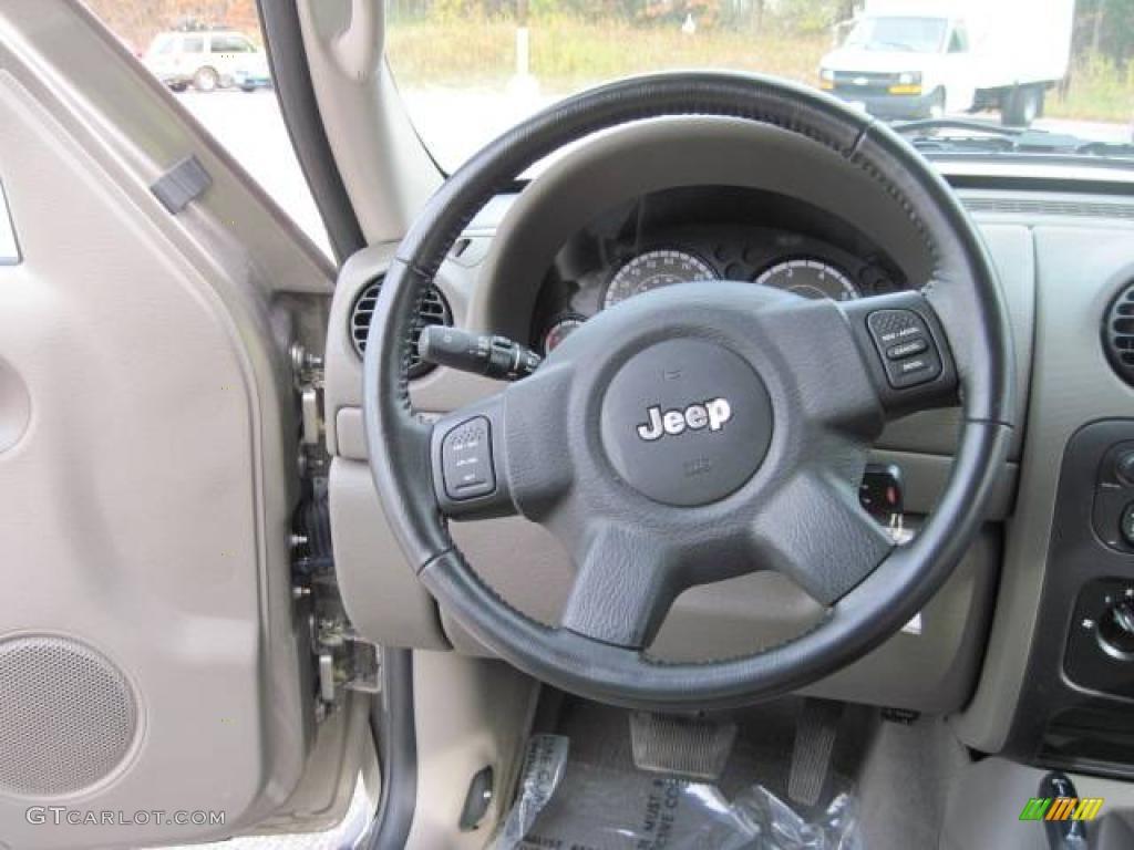 2007 Light Khaki Metallic Jeep Liberty Sport 4x4 21388068 Photo 27 Car Color