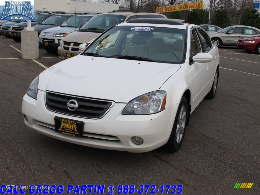 2003 satin white pearl nissan altima 2 5 sl 21369332 photo 3 car color galleries. Black Bedroom Furniture Sets. Home Design Ideas