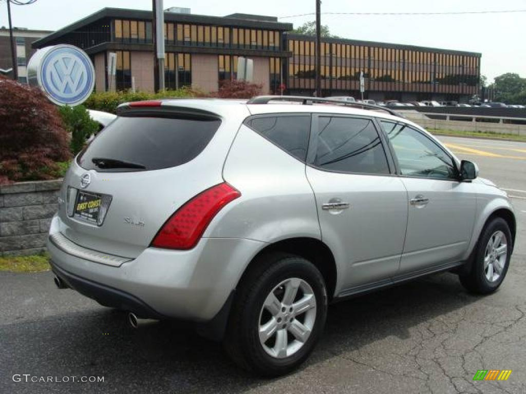 2007 Murano S AWD - Brilliant Silver Metallic / Charcoal photo #3