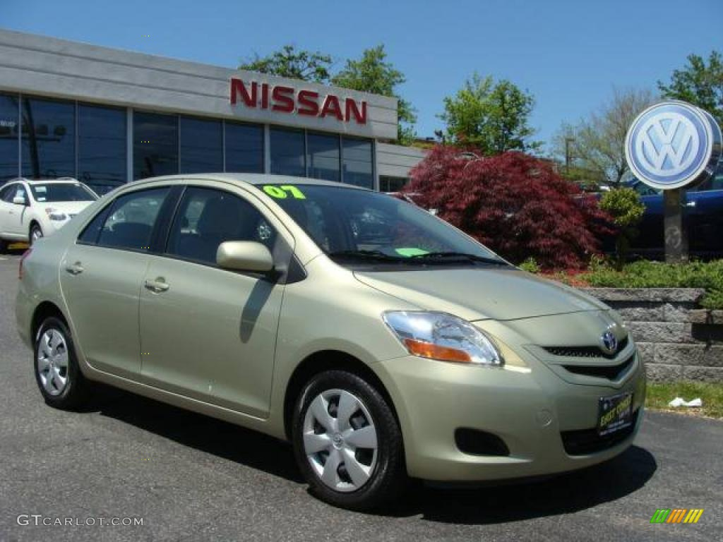 2007 olive mist toyota yaris sedan 21375340 car color galleries. Black Bedroom Furniture Sets. Home Design Ideas