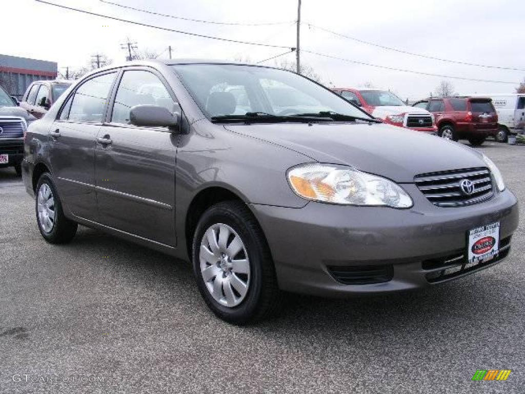 2004 moonshadow gray metallic toyota corolla le 21444442. Black Bedroom Furniture Sets. Home Design Ideas