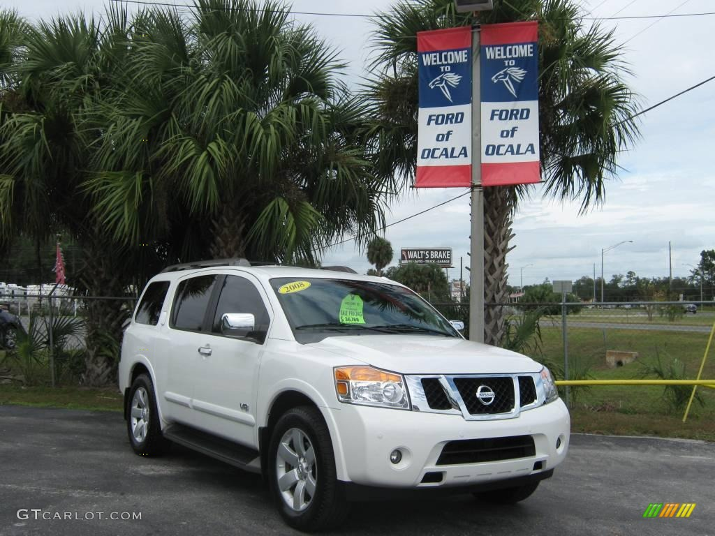 2008 blizzard white nissan armada le 21451001 photo 17 blizzard white nissan armada vanachro Images