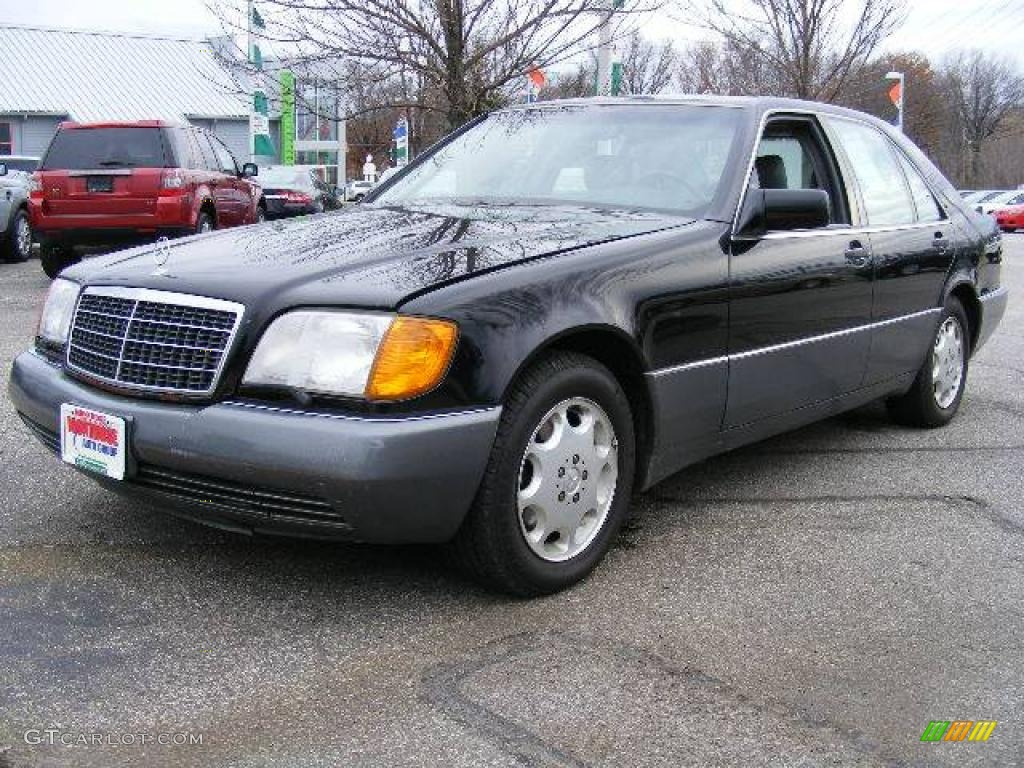1992 black mercedes benz s class 300 se sedan 21444145 for Mercedes benz 1992