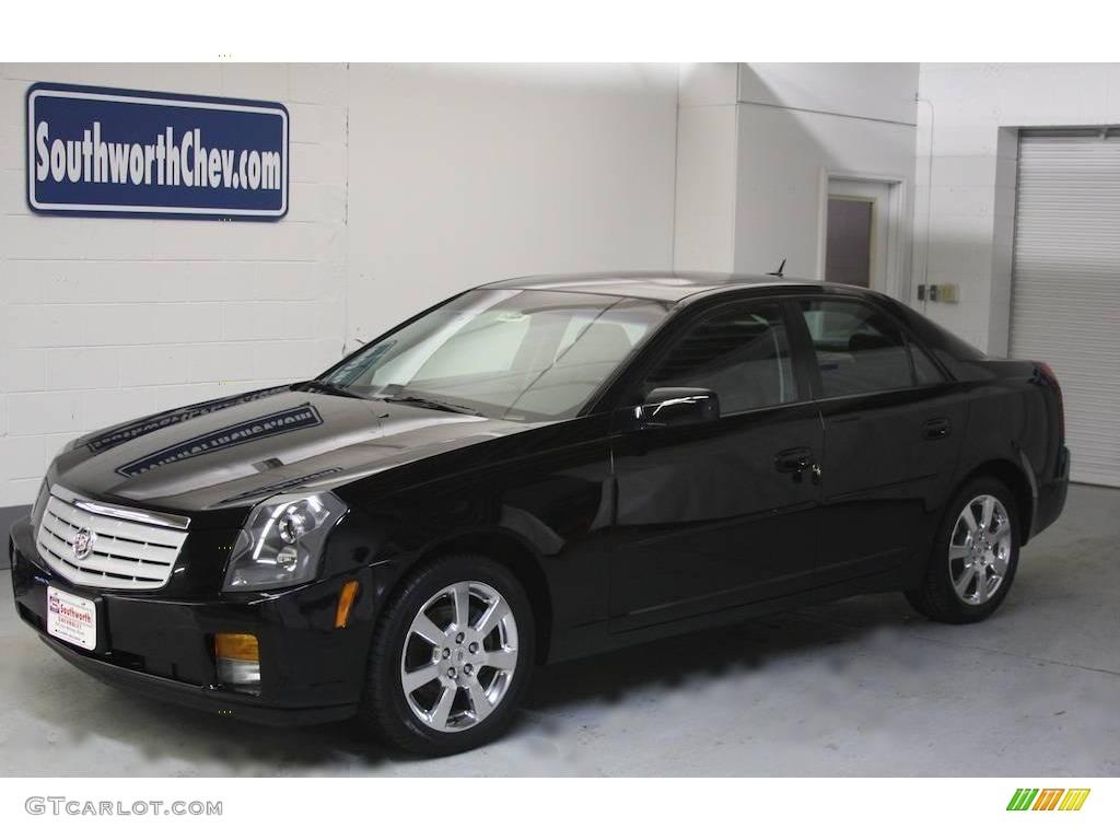 2007 Black Raven Cadillac Cts Sport Sedan 21460591
