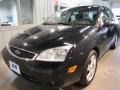 2005 Pitch Black Ford Focus ZX4 SES Sedan  photo #2