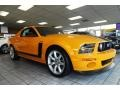 2007 Grabber Orange Ford Mustang Saleen Parnelli Jones Edition  photo #5