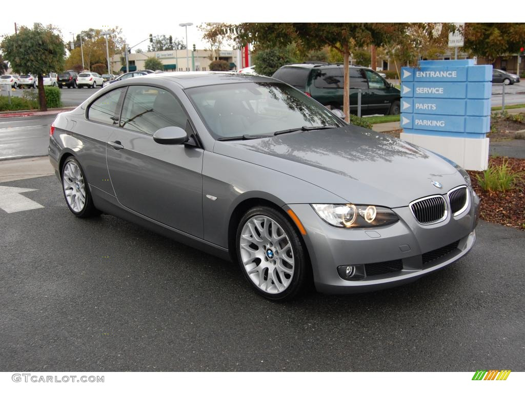 2009 space grey metallic bmw 3 series 328i coupe 21497793 car color galleries. Black Bedroom Furniture Sets. Home Design Ideas