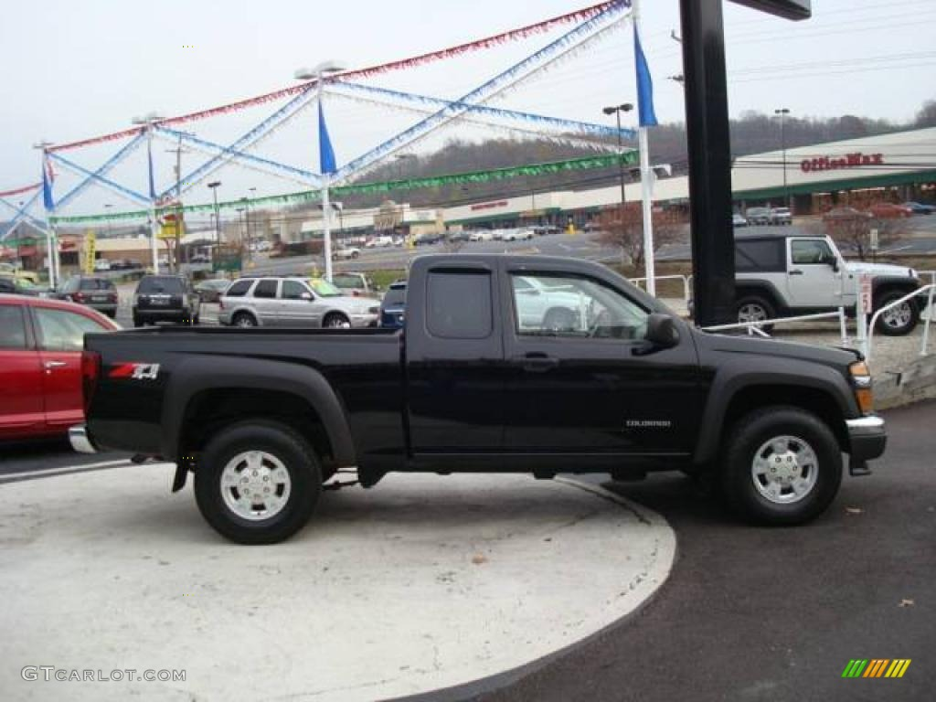 2005 black chevrolet colorado z71 extended cab 4x4 21512922 photo 5 gtcarlot com car color