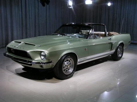 1968 Shelby Mustang GT500 KR Convertible Data, Info and ...