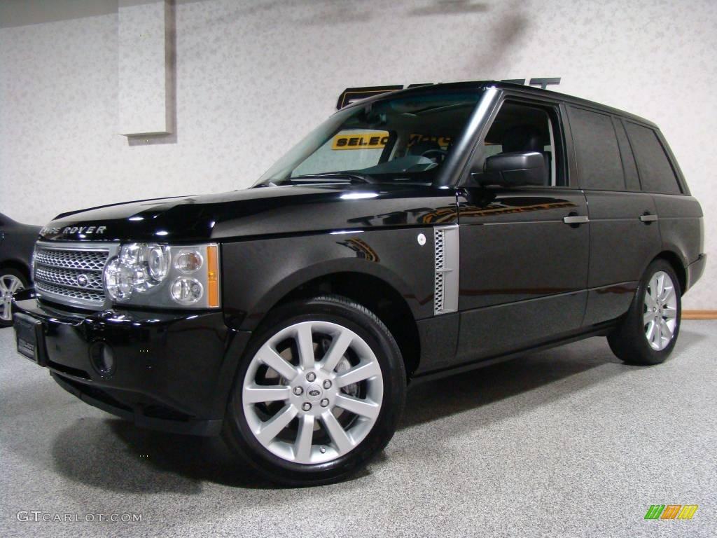 2007 java black pearl land rover range rover supercharged 21505659 car color. Black Bedroom Furniture Sets. Home Design Ideas