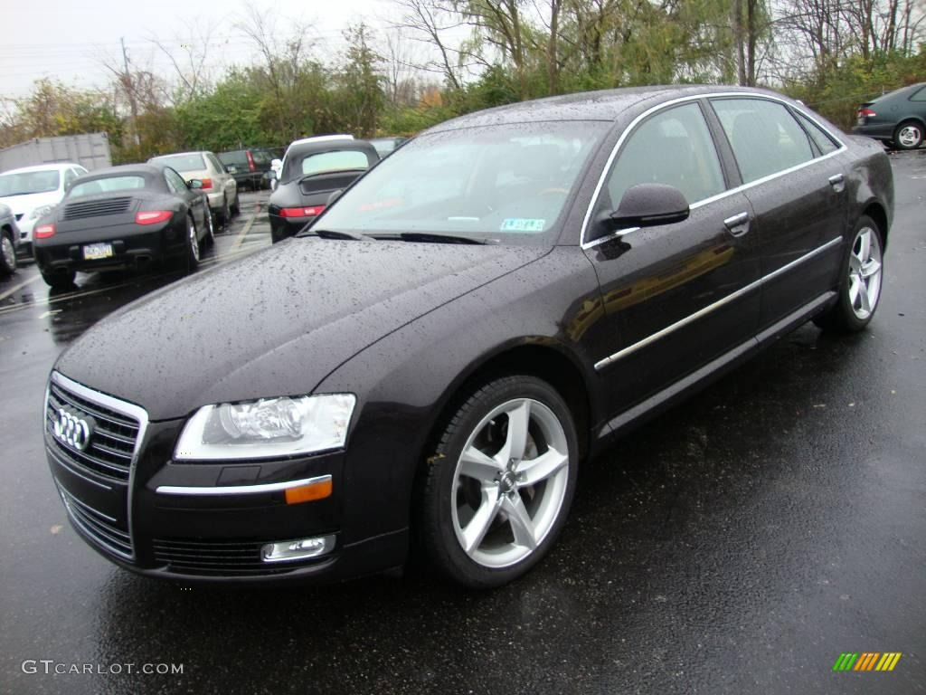 2008 cherry black pearl effect audi a8 l 4 2 quattro 21555856 car color galleries. Black Bedroom Furniture Sets. Home Design Ideas
