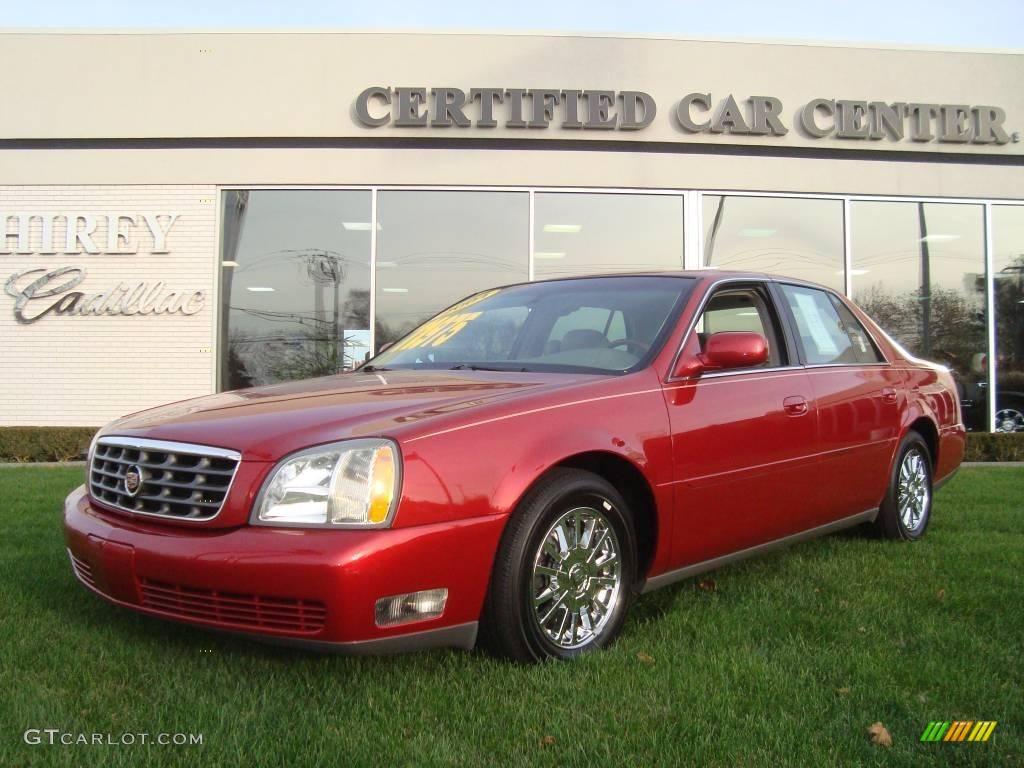 2004 crimson red pearl cadillac deville dhs 21562984 gtcarlot com car color galleries gtcarlot com