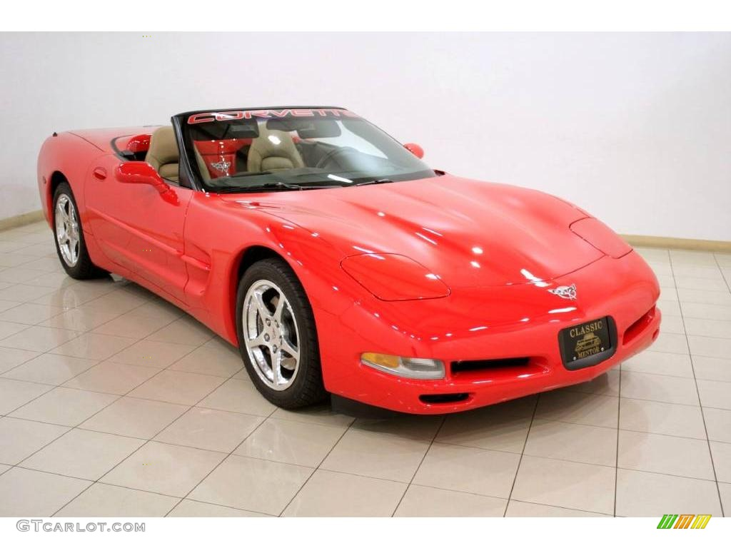 2003 Torch Red Chevrolet Corvette Convertible 21576438